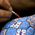 Persian handicrafts- enamels